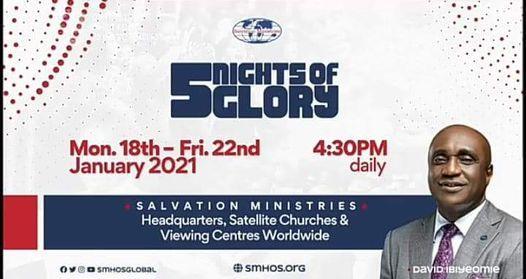 5 nights of glory 2021