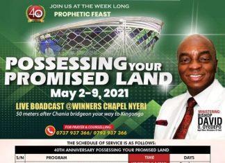 winners chapel 40th anniversary